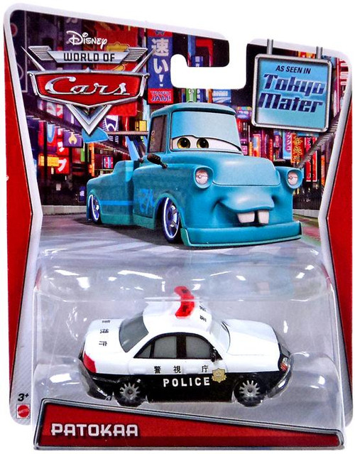 Disney Cars The World of Cars Patokaa Exclusive Diecast Car
