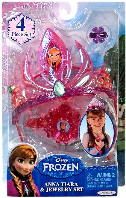 Disney Frozen Anna Tiara & Jewelry Set Dress Up Toy