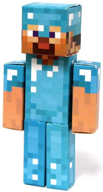 Minecraft Diamond Steve Papercraft [Single Piece]