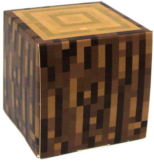 Minecraft Log Block Papercraft [Single Piece]