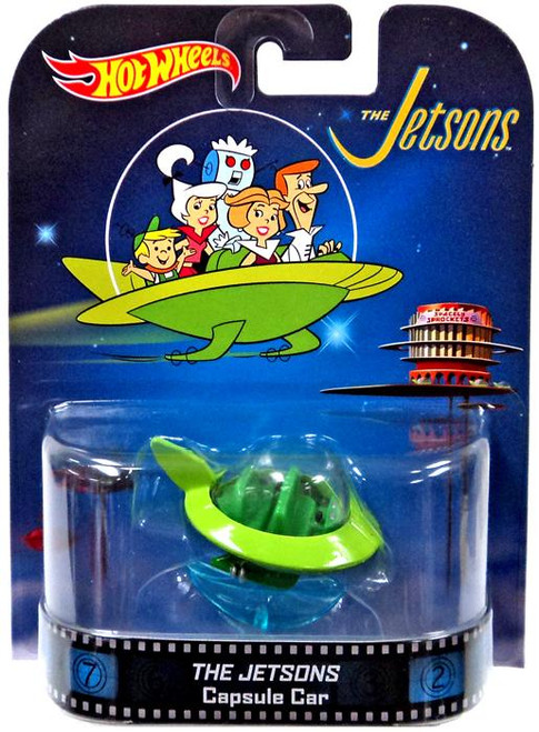 The Jetsons Hot Wheels Retro Capsule Car Diecast Vehicle