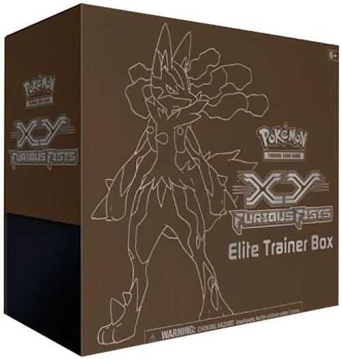 Pokemon XY Furious Fists Elite Trainer Box [Lucario]