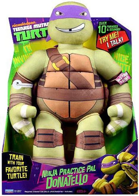 Teenage Mutant Ninja Turtles Nickelodeon Ninja Practice Pal Donatello 15-Inch Plush