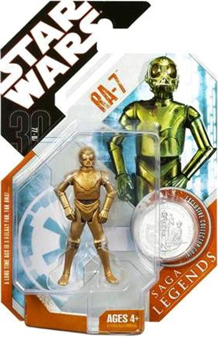 Star Wars A New Hope Saga Legends 2007 30th Anniversary RA-7 Action Figure #28