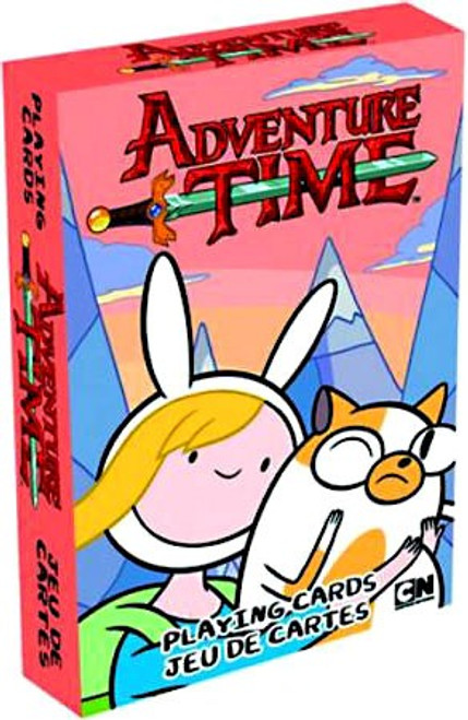 Adventure Time Fionna & Cake Playing Cards