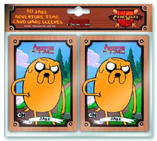 Adventure Time Card Wars Card Supplies Jake Card Sleeves [80 ct]