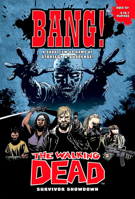 Comic The Walking Dead Bang! Card Game