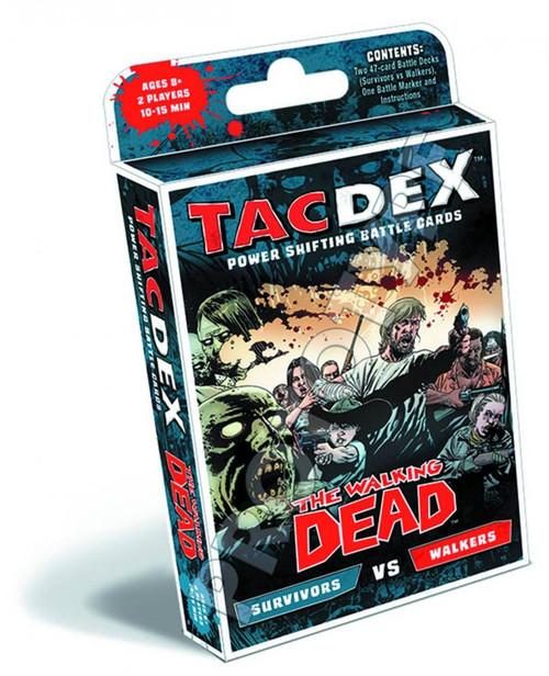 The Walking Dead Tacdex Survivors Vs Walkers Battle Deck