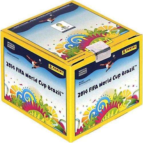 2014 Brazil 2014 Fifa World Cup Brazil Sticker Box