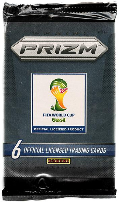 FIFA World Cup 2014 Brazil Prizm Trading Card Pack