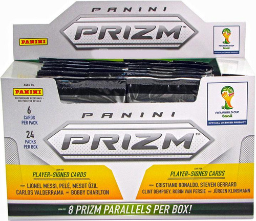 FIFA World Cup 2014 Brazil Prizm Trading Card Box