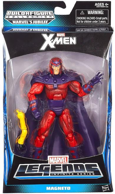 X-Men Marvel Legends Infinite Series Jubilee Magneto Action Figure