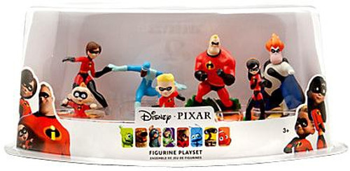Disney / Pixar The Incredibles Figurine Playset Exclusive