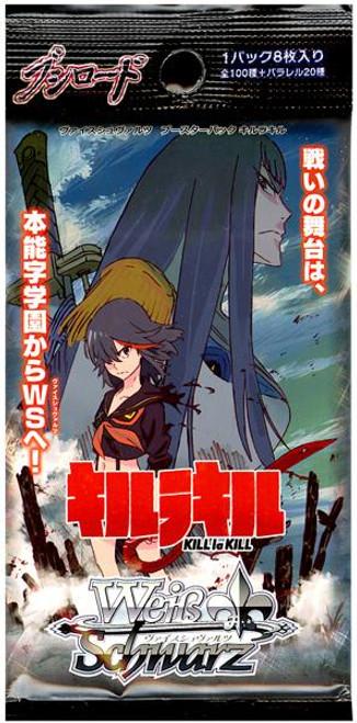 Weiss Schwarz Japanese Kill La Kill Booster Pack [8 Carrds]