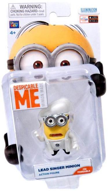 Despicable Me Minion Made Lead Singer Minion Action Figure