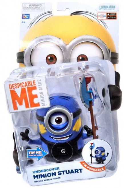 Despicable Me Minion Made Undercover Minion Stuart Action Figure