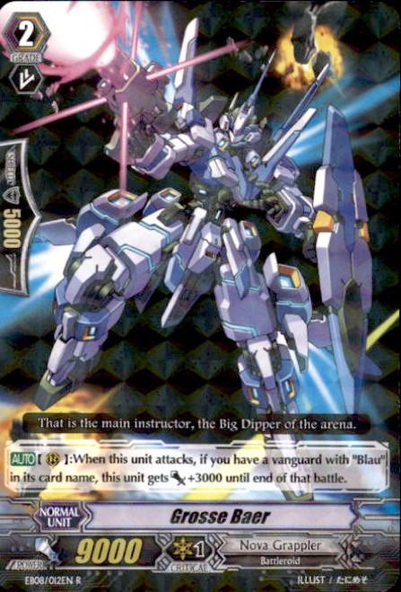 Cardfight Vanguard Champions of the Cosmos Rare Grosse Baer EB08/012