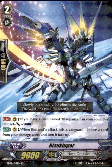 Cardfight Vanguard Champions of the Cosmos Rare Blaukluger EB08/014