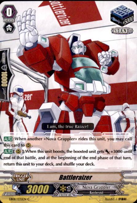Cardfight Vanguard Champions of the Cosmos Common Battleraizer EB08/035