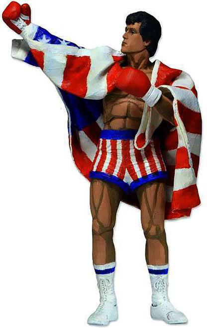 NECA 8-Bit Video Game Rocky Balboa Action Figure