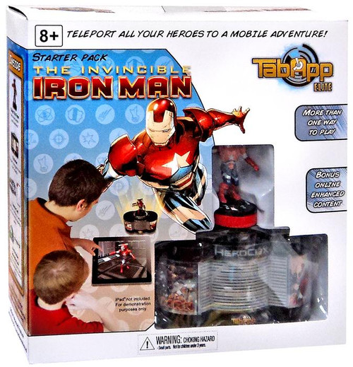 DC HeroClix TabApp Elite The Invincible Iron Man Starter Pack