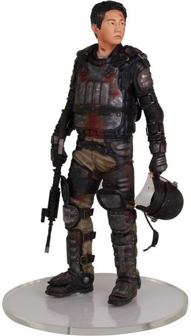 The Walking Dead AMC TV Glenn Statue [Riot Gear]