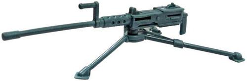 GI Joe Loose Weapons M2 Browning .50 Caliber Machine Gun Action Figure Accessory [Blue Gray Loose]