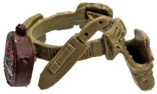 GI Joe Loose Survival Belt Action Figure Accessory [Olive Loose]