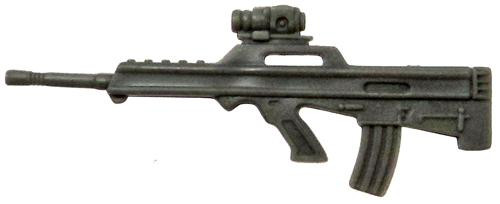 GI Joe Loose Weapons M17S Rifle Action Figure Accessory [Gray Loose]