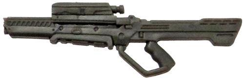GI Joe Loose Weapons Cobra Pulse Rifle Action Figure Accessory [Gray Loose]