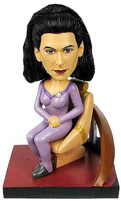 Star Trek The Next Generation Build a Bridge Deanna Troi 7-Inch Bobble Head