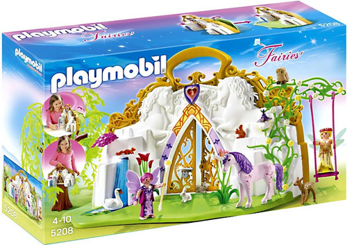 Playmobil Fairies Take Along Unicorn Fairy Land Set #5208