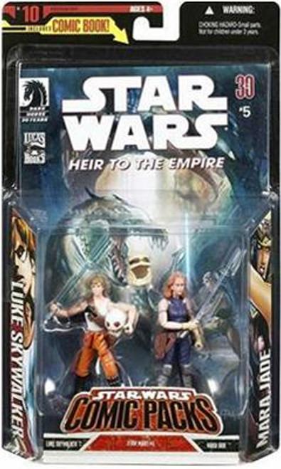 Star Wars Expanded Universe Comic Packs 2007 Mara Jade & Luke Skywalker Action Figure 2-Pack
