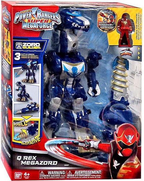 Power Rangers Q Rex Megazord Action Figure