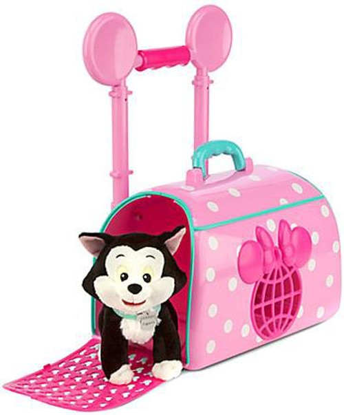 Disney Minnie Mouse and Figaro Pet Travel Carrier Exclusive Playset