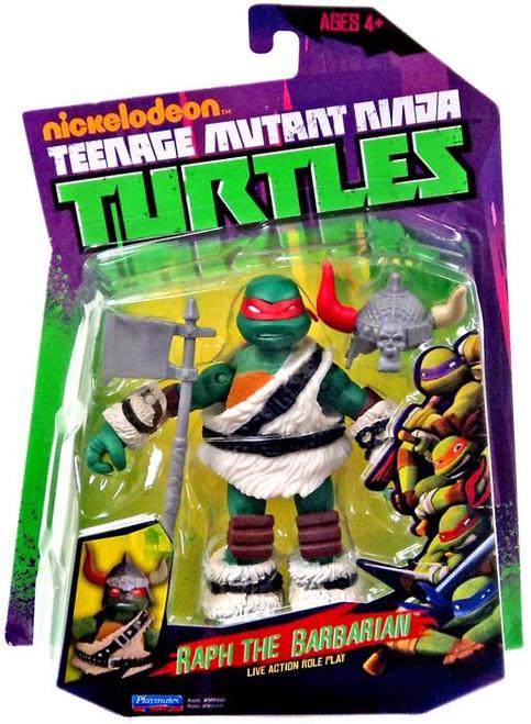 Teenage Mutant Ninja Turtles Nickelodeon Raphael Action Figure [Raph the Barbarian]