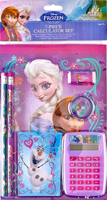 Disney Frozen Frozen 7-Piece Calculator Set 6-Inch