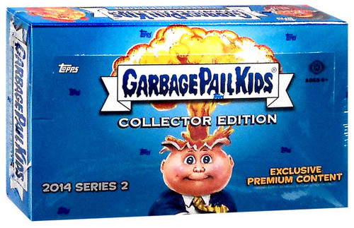 Garbage Pail Kids 2014 Series 2 Collectors Edition Trading Card Box