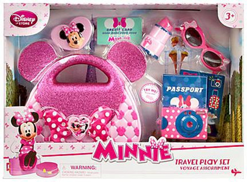 Disney Minnie Mouse Travel Play Set Exclusive Playset