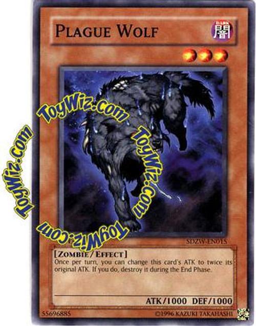 YuGiOh Structure Deck: Zombie World Common Plague Wolf SDZW-EN015