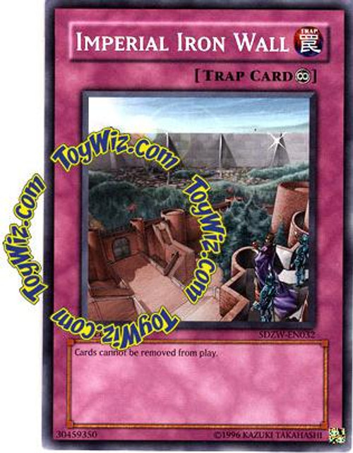 YuGiOh Structure Deck: Zombie World Common Imperial Iron Wall SDZW-EN032