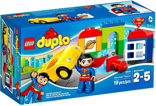 LEGO DUPLO Superman Rescue Set #10543