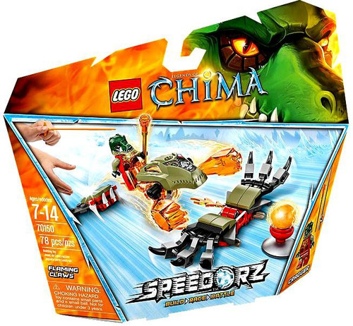 LEGO Legends of Chima Flaming Claws Set #70150