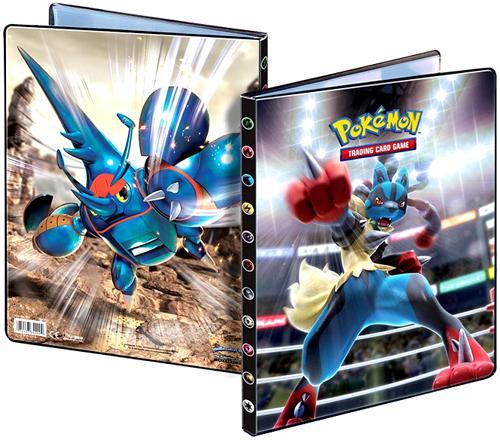 Ultra Pro Pokemon Card Supplies Mega Lucario 9-Pocket Binder