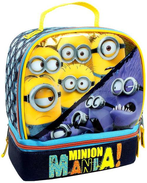 Despicable Me Minion Made Minion Mania! 5-Inch Lunch Bag