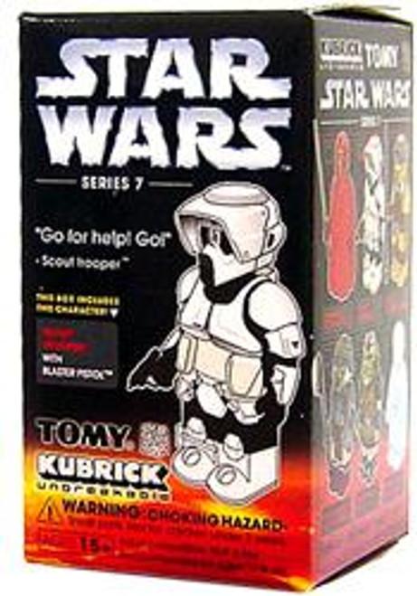 Star Wars Return of the Jedi Kubrick Series 7 Scout Trooper Mini Figure