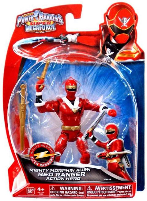 Power Rangers Super Megaforce Red Ranger Action Figure [Mighty Morphin Alien]