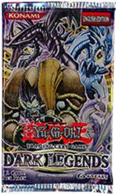 YuGiOh Dark Legends Exclusive Booster Pack [Sealed]