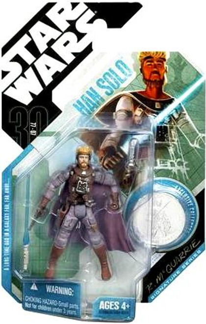 Star Wars Expanded Universe 30th Anniversary 2007 Wave 7 Han Solo Action Figure #47 [McQuarrie Concept]