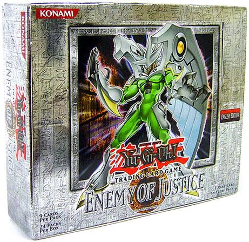YuGiOh Enemy of Justice Booster Box [Unlimited Edition] [Sealed]